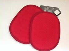 New OXO Good Grips Set of 2 Potholders Red