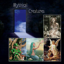 Liberia - 2014 - Mythical Creatures - Leprechaun - Sheet of 4 Stamps - Mnh