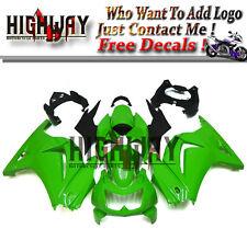 Fairings For Kawasaki Ninja 250 08-12 EX250R ABS Fairing Bodywork Kit LemonGreen
