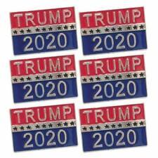 5xPCS Donald Trump 2020 President Election Badge Button Pin USA Campaign Brooch