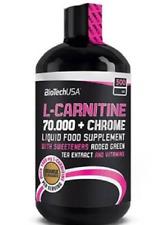 Biotech USA L-carnitine70000 Chrome 500ml Liquid the Vert et vitami / Orange