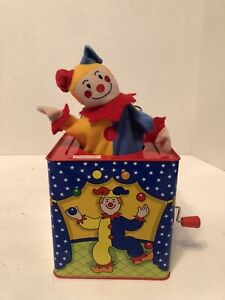 Schylling Clown Jack In The Box Works Classic