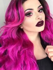 Long Full Volume Wavy Lace Front Glamour Drag Wig | PlayGurl 3 Bright Shades