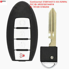 for Nissan Murano Pathfinder Titan 2017 Remote Car Key Fob 433.92MHz S180144313
