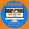11.000 Webseite Besucher für ihre Website, Echte Besucher, maximal 2 Seiten inkl