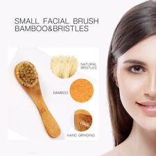 Fashion Body Natural Bristle Dry Skin Exfoliation Brush Massager Face Brush HOT