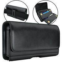 iPhone 10/X/ XS/11 Pro Belt Holster w/ Clip Phone Pouch w/ Belt Case Phone Pouch