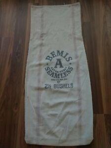 Vintage Grain Sack Bemis Seamless