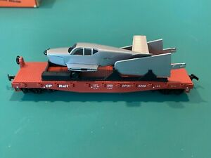 HO SCALE FLAT CAR with AIRPLANE