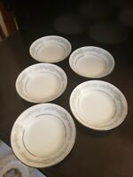 """5 NORITAKE DONEGAL 2179 FRUIT BERRY BOWLS 5 1/2"""" ROUND EXCELLENT CONDITION"""