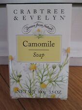 Crabtree & Evelyn Camomile Triple Milled Soap 3.5 oz. New in Box! Rare & HTF