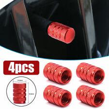4PCS Aluminium Car Accessories Wheel Tyre Valve Stems Air Dust Cover Screw Caps