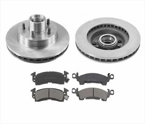 for 93-95 G20 With Hydro Boost Hydraulic Chevrolet Van Brake Front Rotors Pads