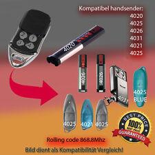 2X 4020 TX03-868-4 Kompatibel Handsender, Ersatz Sender, 868.8 MHz keyfob