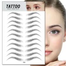 4D Hair-like Eyebrow Tattoo Sticker False Eyebrows Waterproof Lasting Makeup