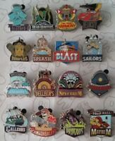 Disneyland Disney Mascots Mystery Set Pack DLR Attractions Choose a Disney Pin