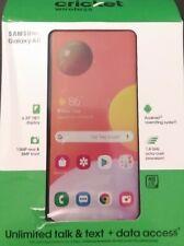Cricket Wireless Samsung Galaxy A11, 32GB, (Single SIM) New!