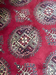 Axminster Red Turkey Carpet Extra Large Carpet 19.8 x 15.11 Ft