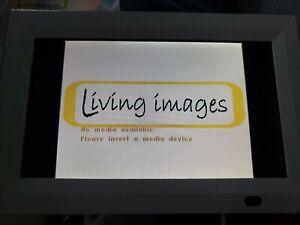 """Living Images 7"""" Digital Photo Frame"""
