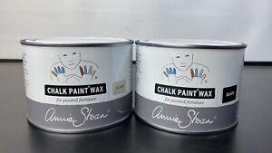 Annie Sloan Chalk Paint Wax - Black 500ml + Clear 500ml