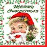 3 SERVIETTES EN PAPIER PERE NOEL. 3 PAPER NAPKINS SANTA CLAUS MERRY CHRISTMAS