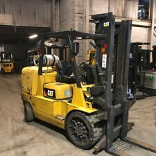 2015 Cat Gc70K 15,500lbs Used Forklift w/Triple Mast & 6106 Hours Lp Gas
