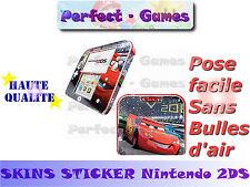 Skin sticker auto-collant vinyl Cars n°2 pour console nintendo 2DS