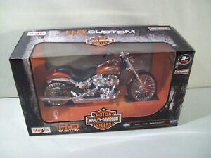NEW MAISTO HARLEY DAVIDSON 2014 CVO BREAKOUT DIE CAST MOTORCYCLE 1/12 SCALE