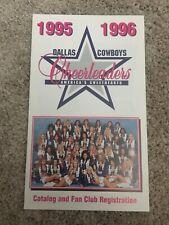 1995-1996 Dallas Cowboys Cheerleaders DCC Team Squad 5x7 Order Form Fan Club