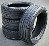 4 New Premiorri Solazo S Plus 255/55R18 109W XL High Performance Tires