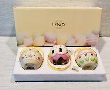Lenox, Easter, Egg Votives, Set Of 3, Figurine, New In Box.