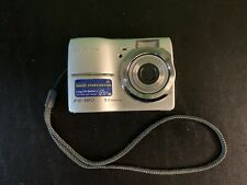 Olympus FE-180 6.0MP Digital Camera - Silver Tested And Working.
