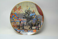 Ringling Bros. and Barnum & Bailey circus collector plate- Elephants 1981 ltd ed
