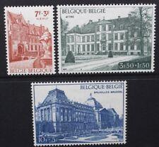 BELGIUM 1971 Belgica '72: Buildings. Set of 3. Mint Never Hinged. SG2245/2247.