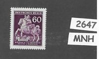 MNH Third Reich stamp / Stamp day / Collecting / WWII Occupation BaM / 1943