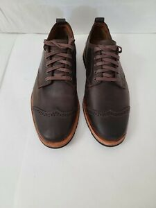Timberland Boot Company Bardstown Brogue Oxford Men Size 8M Brown Potting Soil