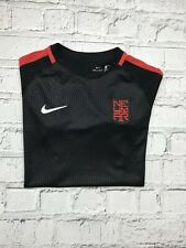 Boys NIKE Black Red Short Sleeve Dri-Fit Casual Sports Shirt Age 12-13 Years