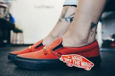 Vans Classic Slip ON Id Chili Pepper Women's Shoes Size 8.5
