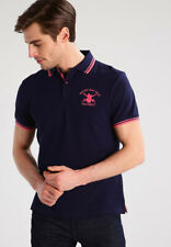 Hackett London Men's British Army Polo Team Navy T-Shirt Size M