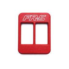 MTEC INDUSTRIES - FRS CENTER CONSOLE HEATER PLAQUES (RED)