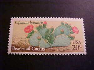 Scott# 1944 Beavertail Cactus Unused OGNH