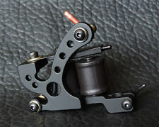 New Casting Frame Tattoo Machine Gun for Liner 10 Coils Black XHJ006A