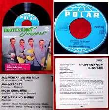 EP Hootenanny Singers (Polar POLP 501) Schweden (Abba!)