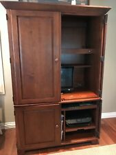 Ethan Allen Office furniture set, computer cabinet, file hutch, and desk