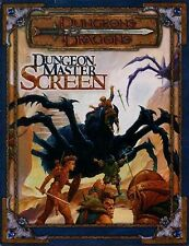 DUNGEON MASTER SCREEN VF! Dungeons Dragons D&D Master's Master Tri-Fold Guide