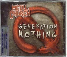 METAL CHURCH GENERATION NOTHING SEALED CD NEW 2014