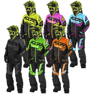 FXR Child Boost Monosuit Thermal Flex Insulation Removable Hood Durable Shell