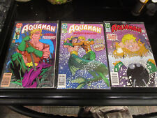 Dc Comics Aquaman 1992 lot of Issues #2 #4 & #6