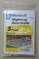 3 HO Highway Guard Rail Kit HO 1:87 SCALE LAYOUT DIORAMA Pikestuff 12