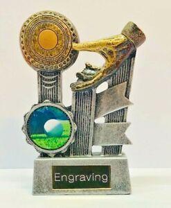 Bowls Trophy + FREE Engraving +  FREE P&P